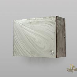 Moderne Wandleuchte – geschliffener rostfreier Stahl – Luxusleuchte