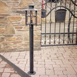Kunstvolle Leuchte OMA zur Beleuchtung von Zugangswegen, Gärten, Parks, Steingärten...
