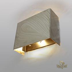 Moderner Leuchtenschirm aus Edelstahl – Innenleuchte