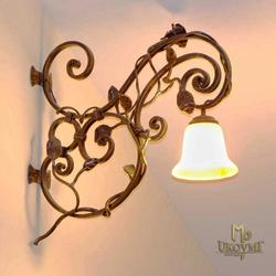 Rustikale Wandlampe für Innenräume