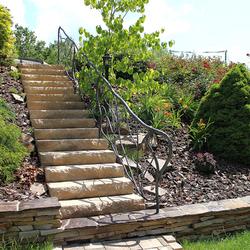 Beleuchtung von Gartentreppen und Steingärten mit Lampen KLASSIK – Luxuslampen